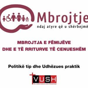 Manual për mbrojtjen e fëmijëve - Shqip